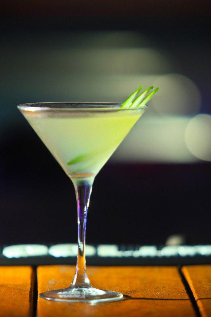 Martini de pepino