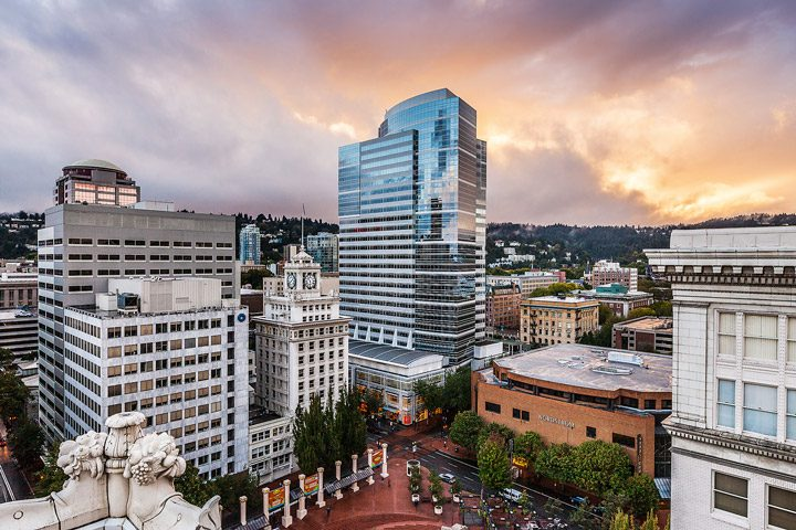 Frescura urbana: Portland