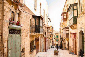 La Valeta, de influencias árabes