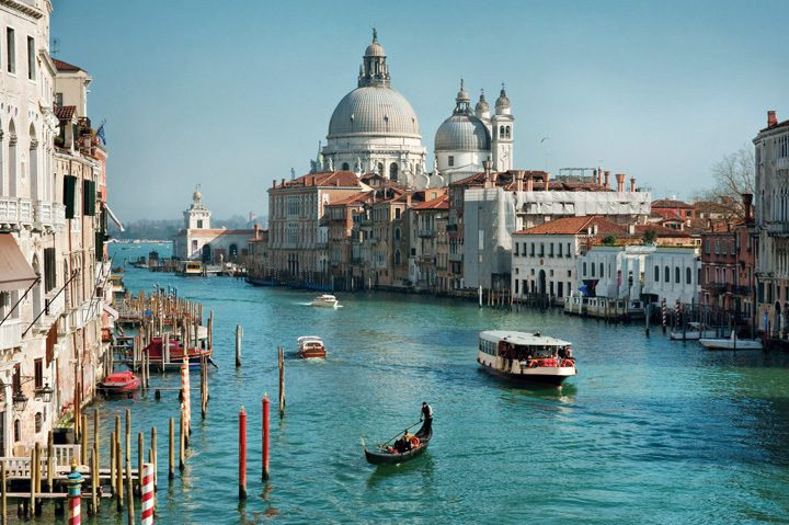 Venecia, entre calles laberínticas