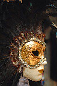 Máscaras durante el carnaval