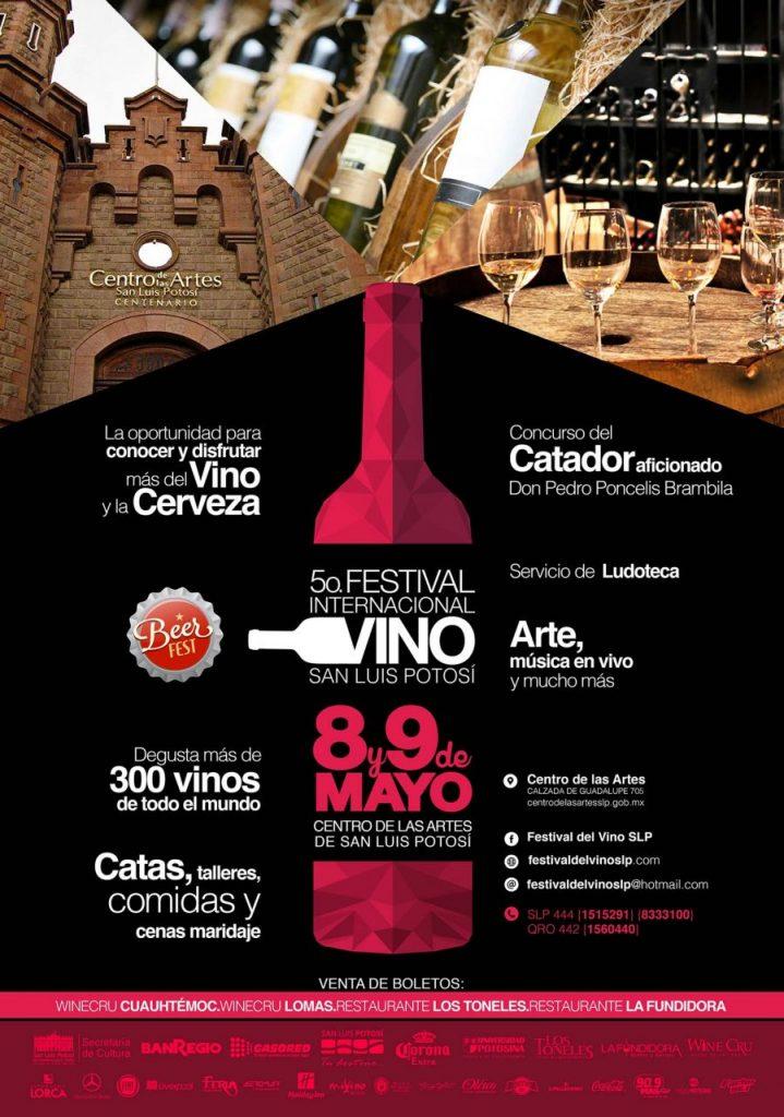 Fiesta del vino en San Luis Potosí