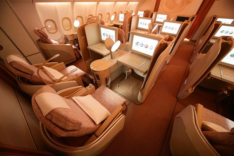 Suites en aviones