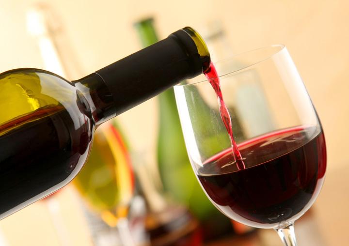 Una copa de vino, buena para la salud