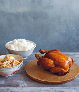 Pollo en salsa de soya