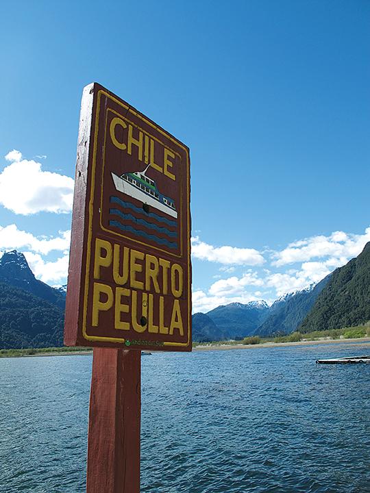 Al sur de la coordillera de Chile