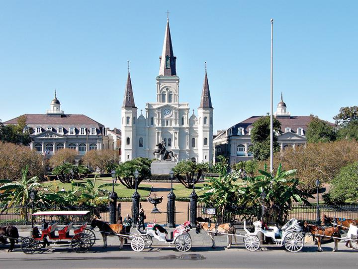 48 horas en Nueva Orleans