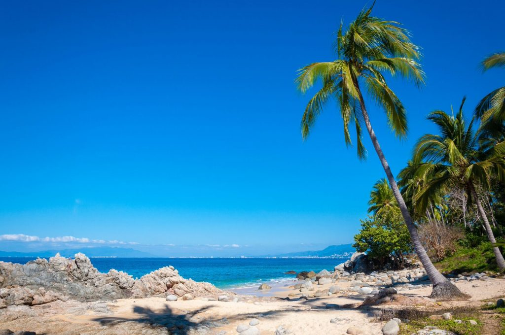 Palomita ecológica: Playa Camarones con Blue Flag