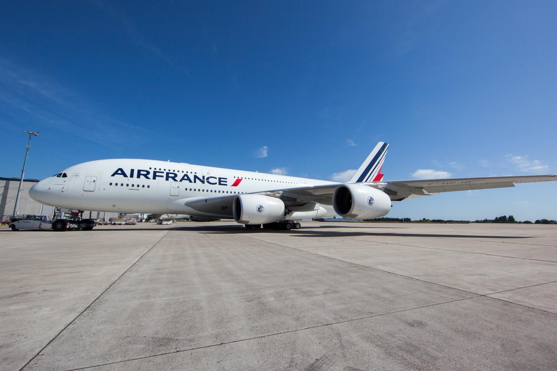 Air France, gigante entre las nubes