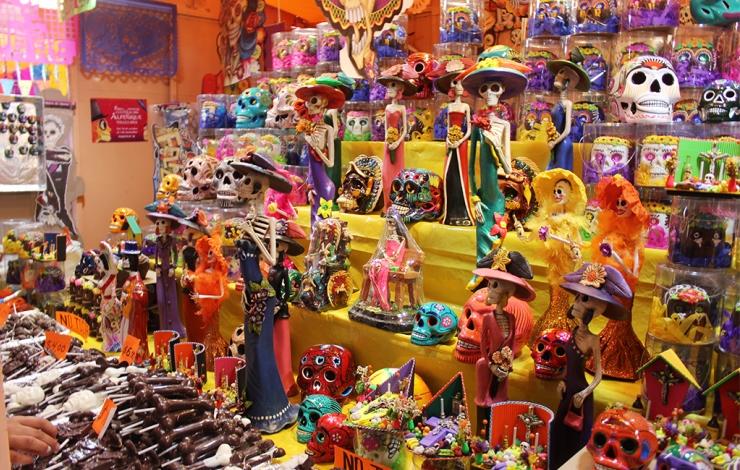 Feria del Alfeñique para vivos y muertos