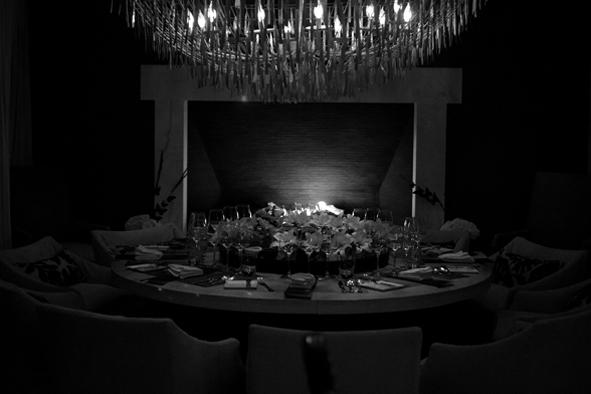 Cena Negra en honor al Día de Muertos