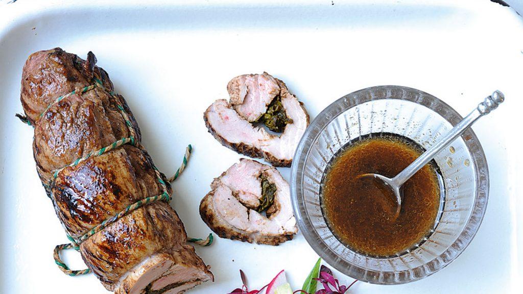 Lomo de cerdo con cinco especias