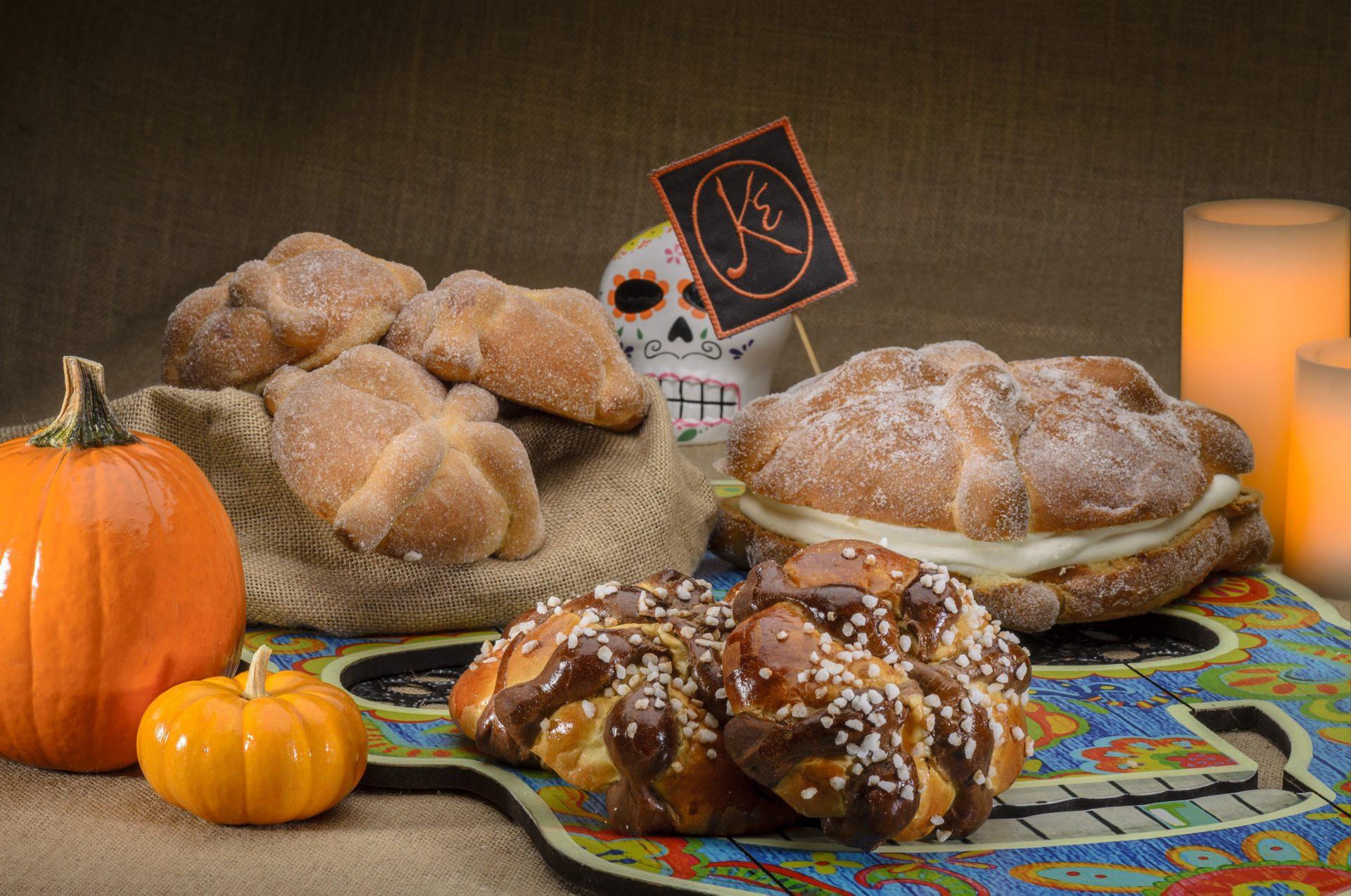 Pan de muerto para todos los gustos