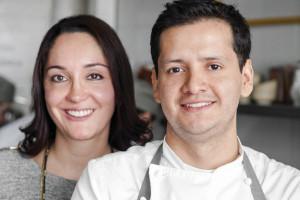 Jorge Vallejo y Alejandra Flores: verdadera dupla