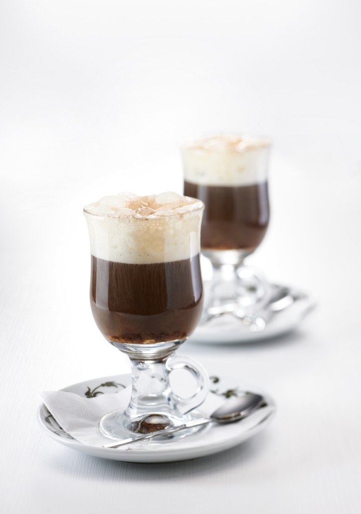 Café irlandés bebidas calientes
