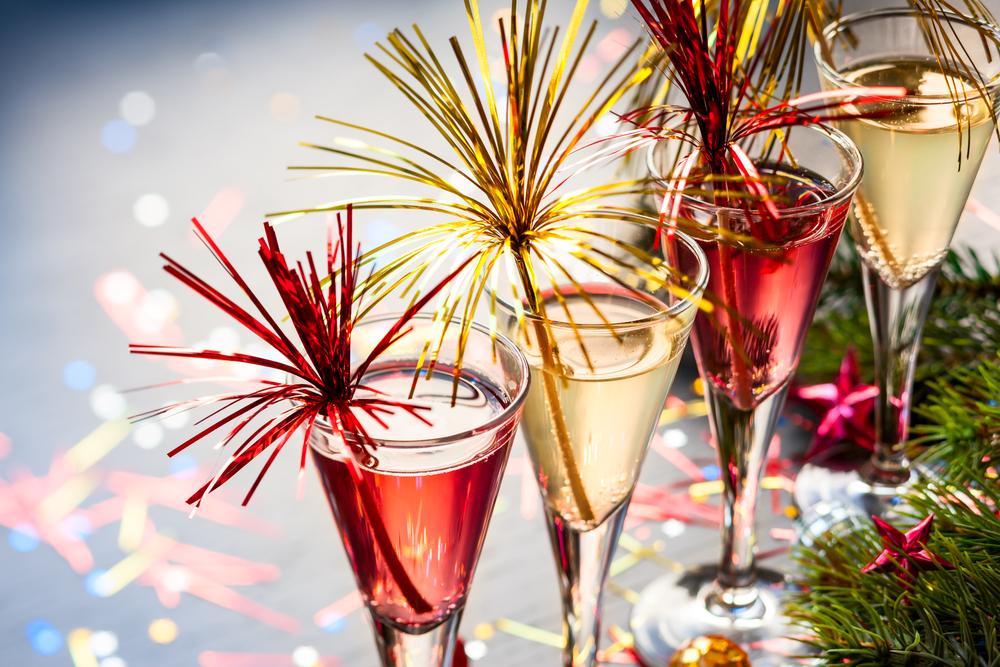 Cocteles para brindar en Año Nuevo