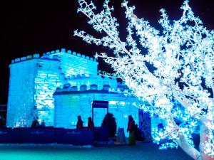 Fiesta de nieve en el Carnaval de Invierno de Quebec