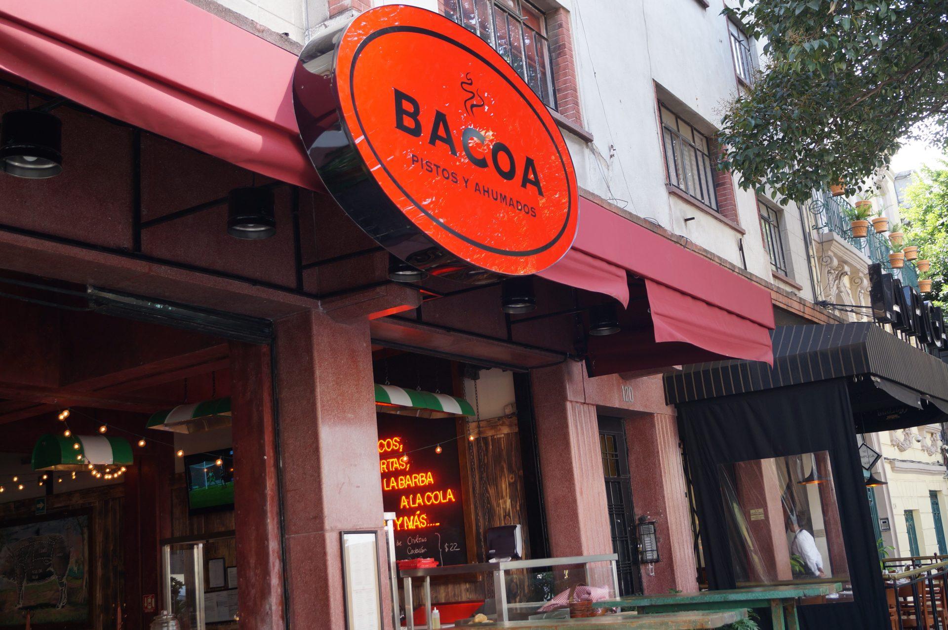 Bacoa: cocina humeante