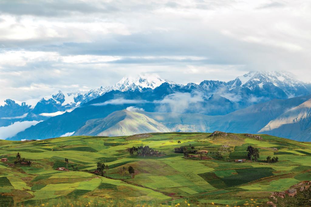 Trayecto de Cusco a Ollantaytambo, Perú