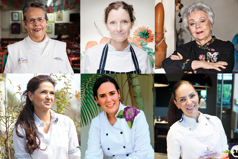 Mujeres en la gastronomía