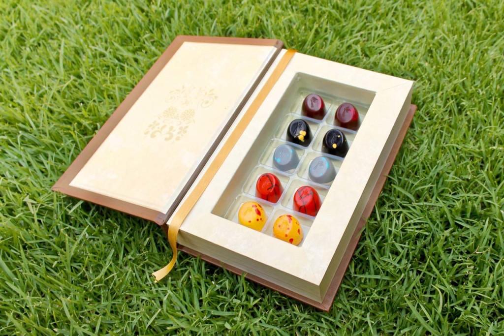 Chocolates Libro de la Selva