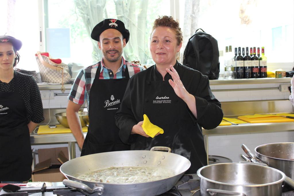 chef Lourdes Erquicia