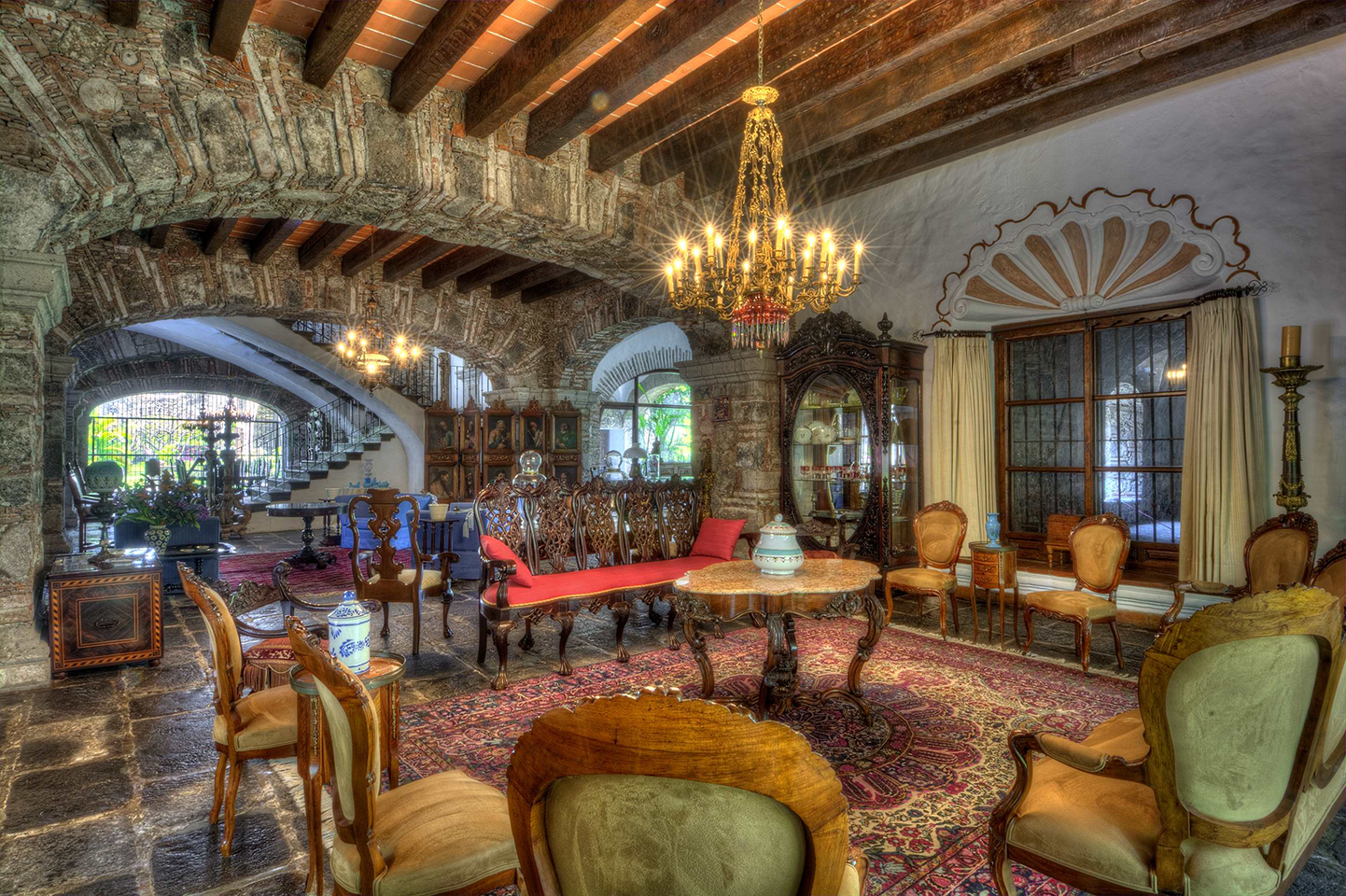 Interior de la Hacienda de San José Acamilpa