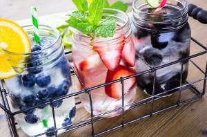 Refrescantes infusiones de fruta