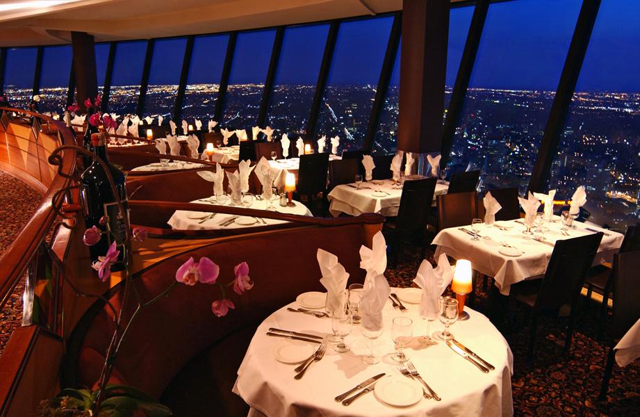 Restaurantes para cenar en las alturas
