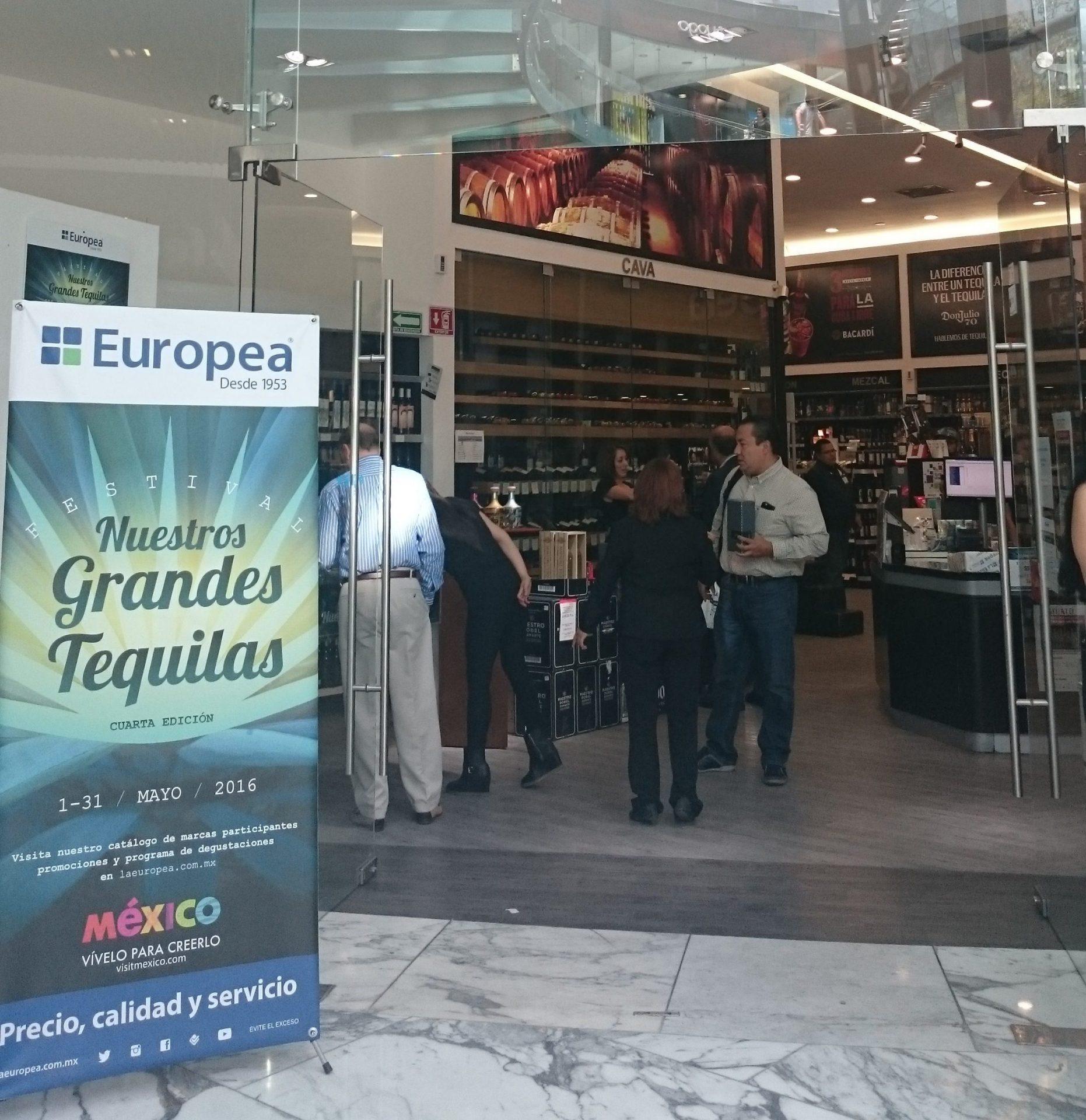 La Europea celebra a los grandes tequilas
