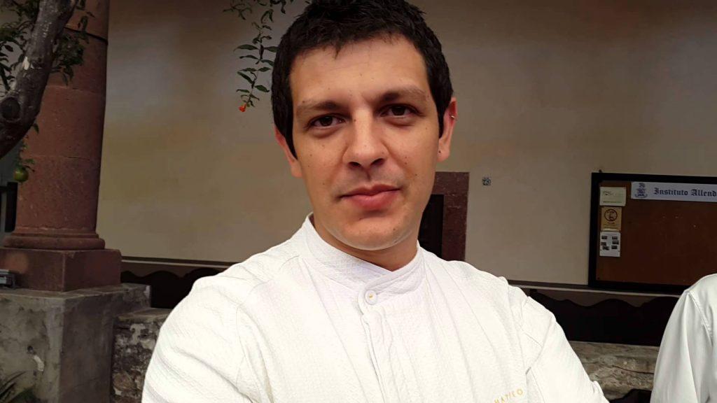 Matteo Salas, de alma mexicana