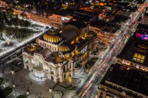 Paseos nocturnos por la Ciudad de México