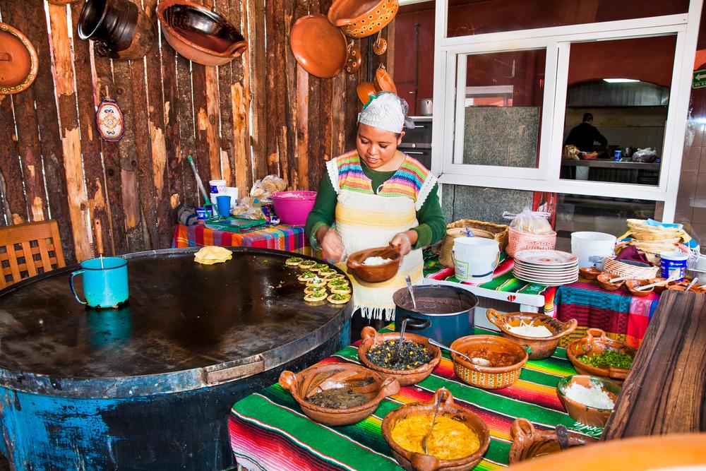 Gastronomía de calle o el arte de comer con las manos