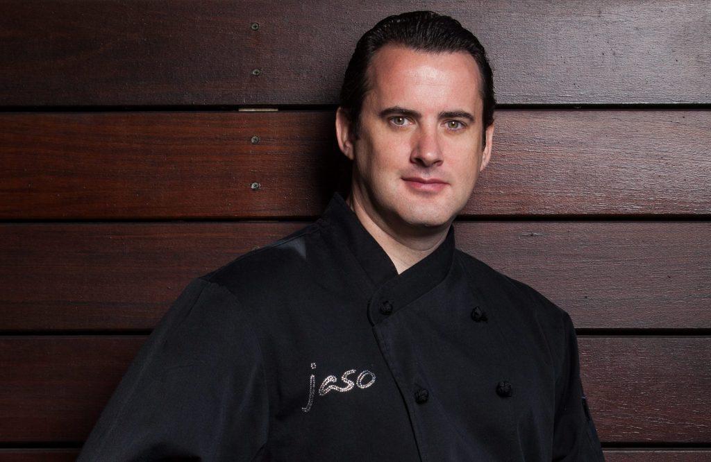 El chef Jared Reardon festeja a papá en Jaso