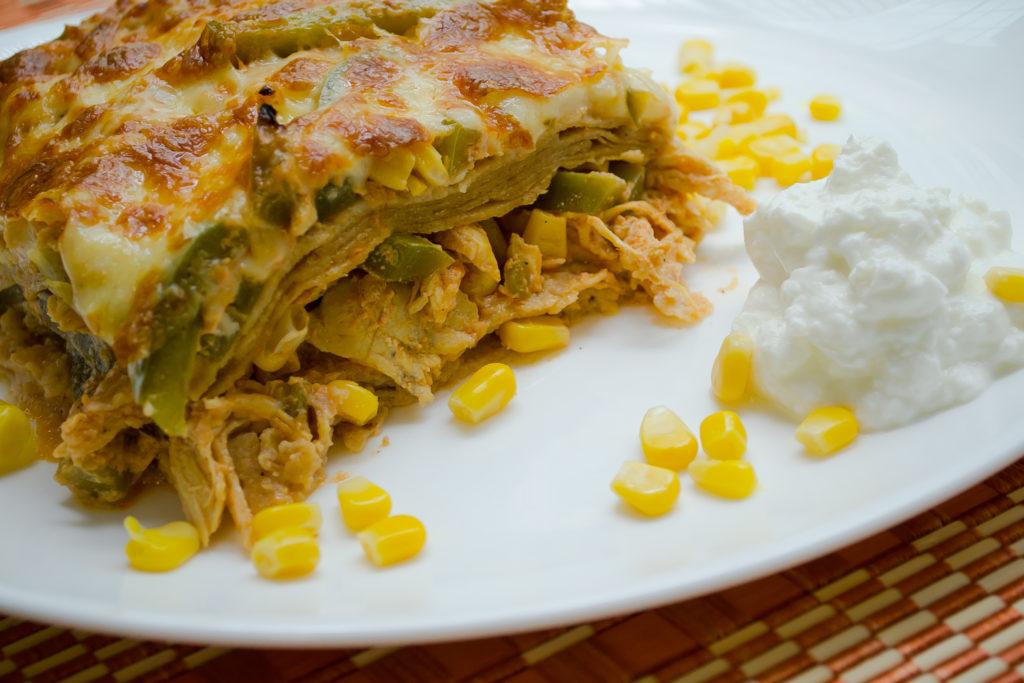 Pastel azteca platillos mexicanos