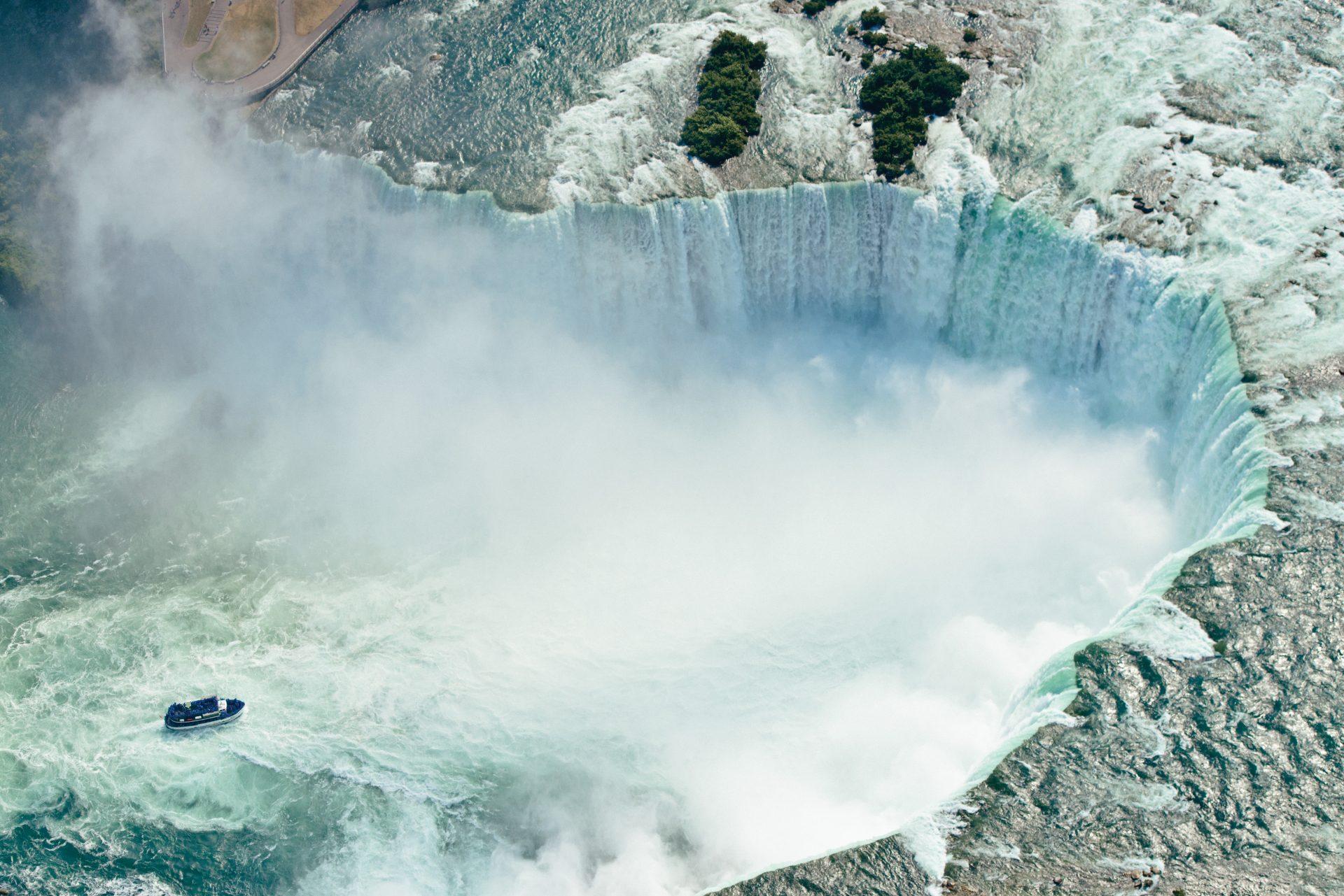 Cataratas del Niágara: el poder del agua