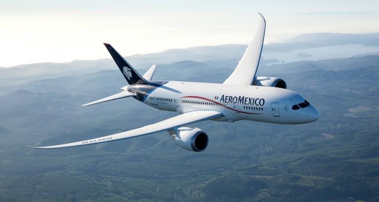 Aeroméxico transmite noticias desde los aires