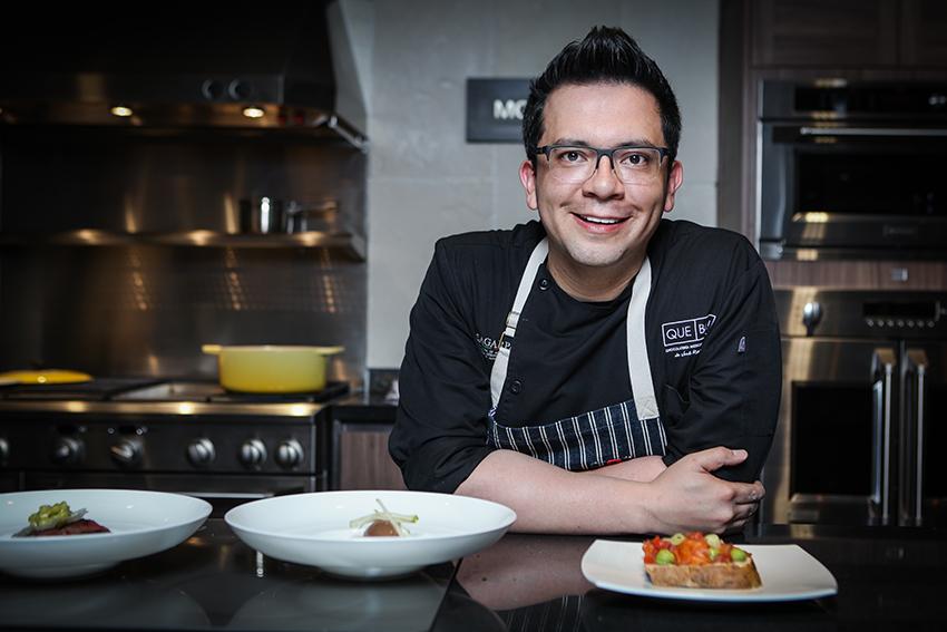 Clase de cocina con José Ramón Castillo y el Nuevo CrossGolf