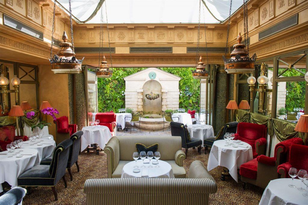 Restaurantes con estrellas Michelin en hoteles