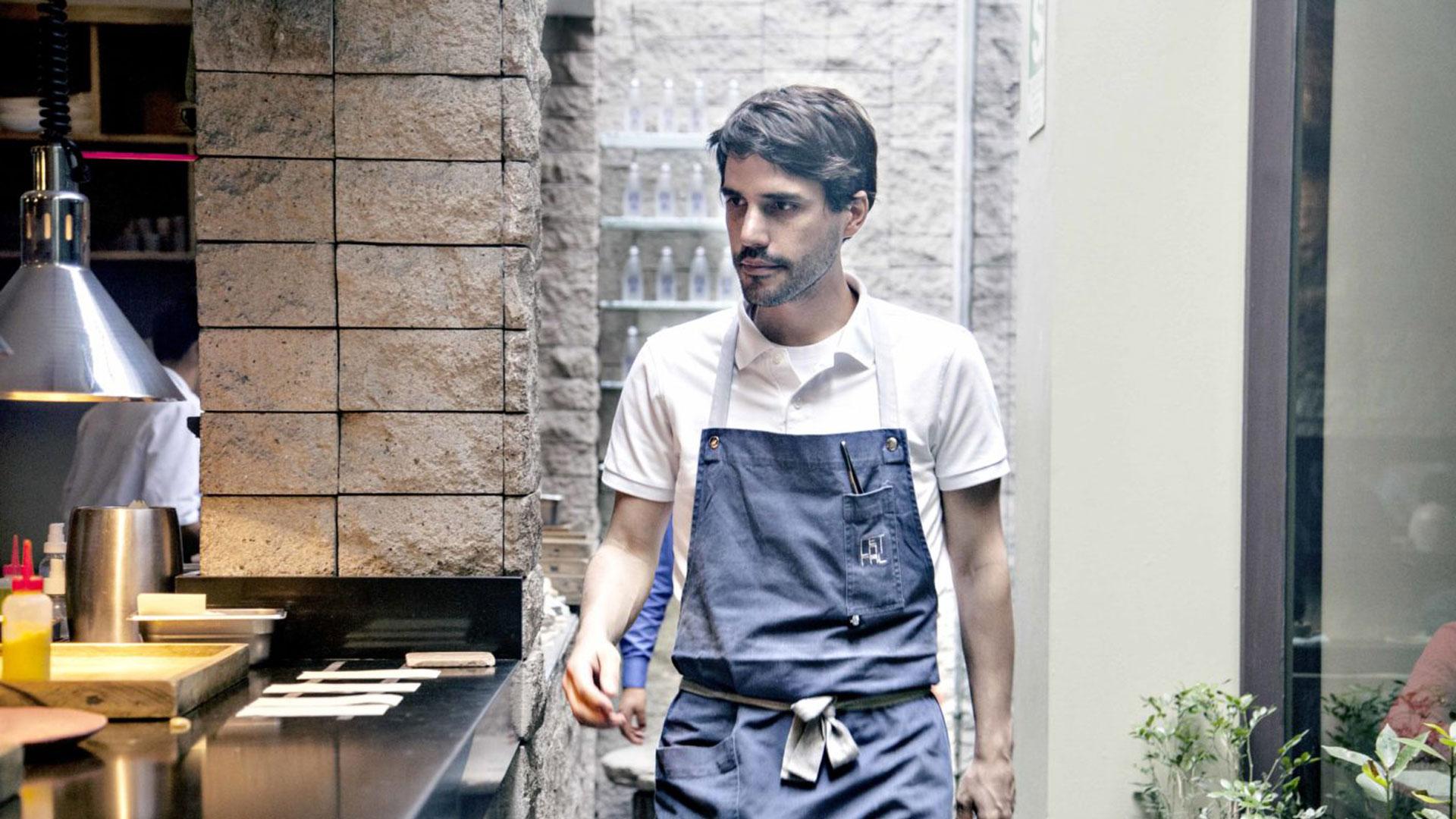 Virgilio Martínez, sin preocupaciones de ser el número 1
