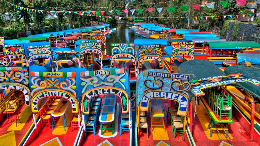 Lugares imperdibles de Xochimilco