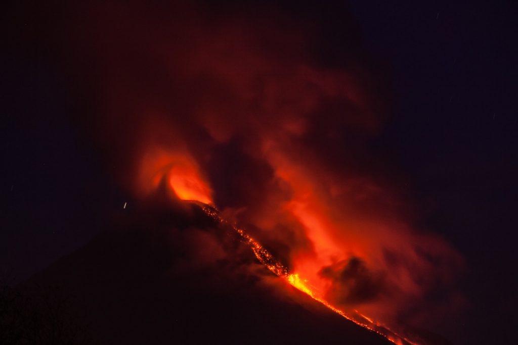 Volcanes activos de México