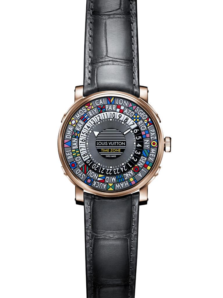 Copie de Louis Vuitton - Escale Time Zone Pink Gold & Steel @Olivier Arnaud relojes