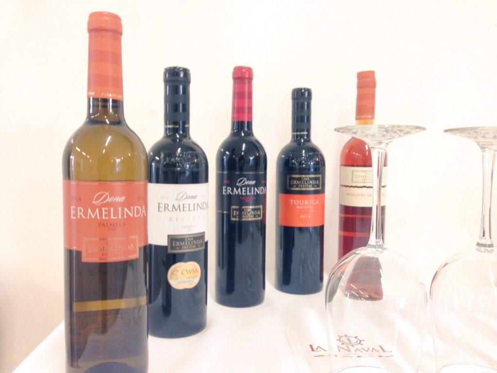 Catando Portugal con vinos de Casa Ermelinda Freitas
