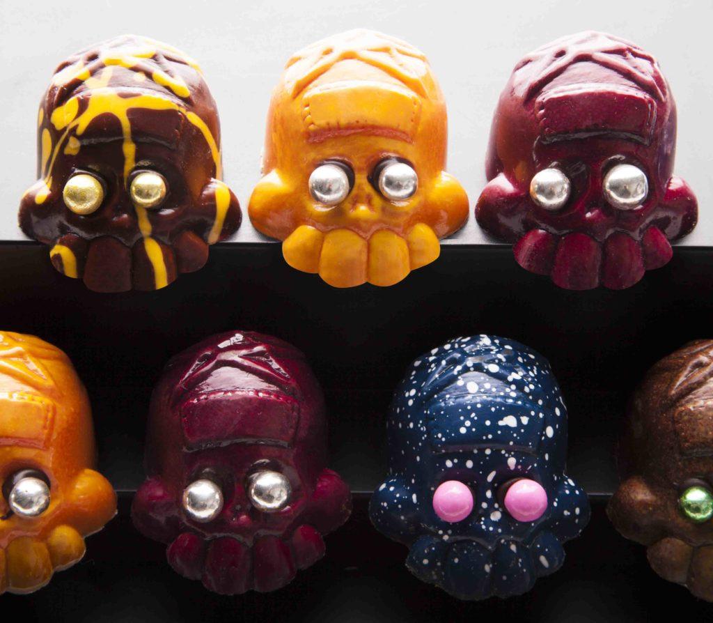 Calaveritas de chocolate de José Ramón Castillo