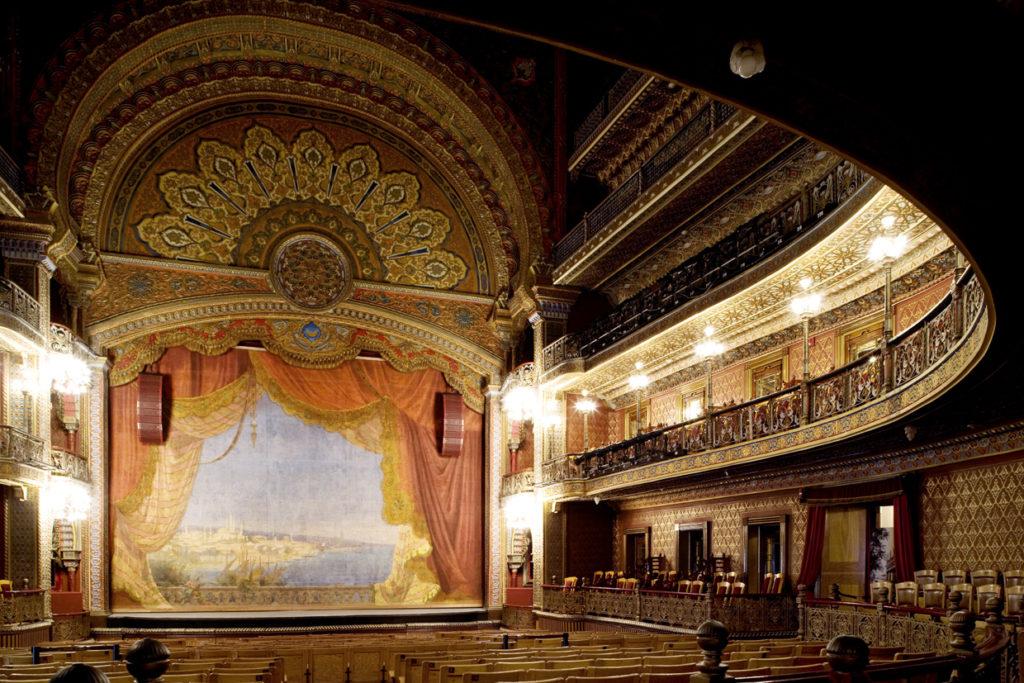 Teatro Juarez interior