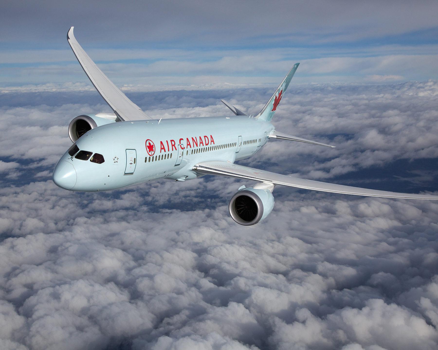 Air Canada entre las 20 mejores aerolíneas del mundo
