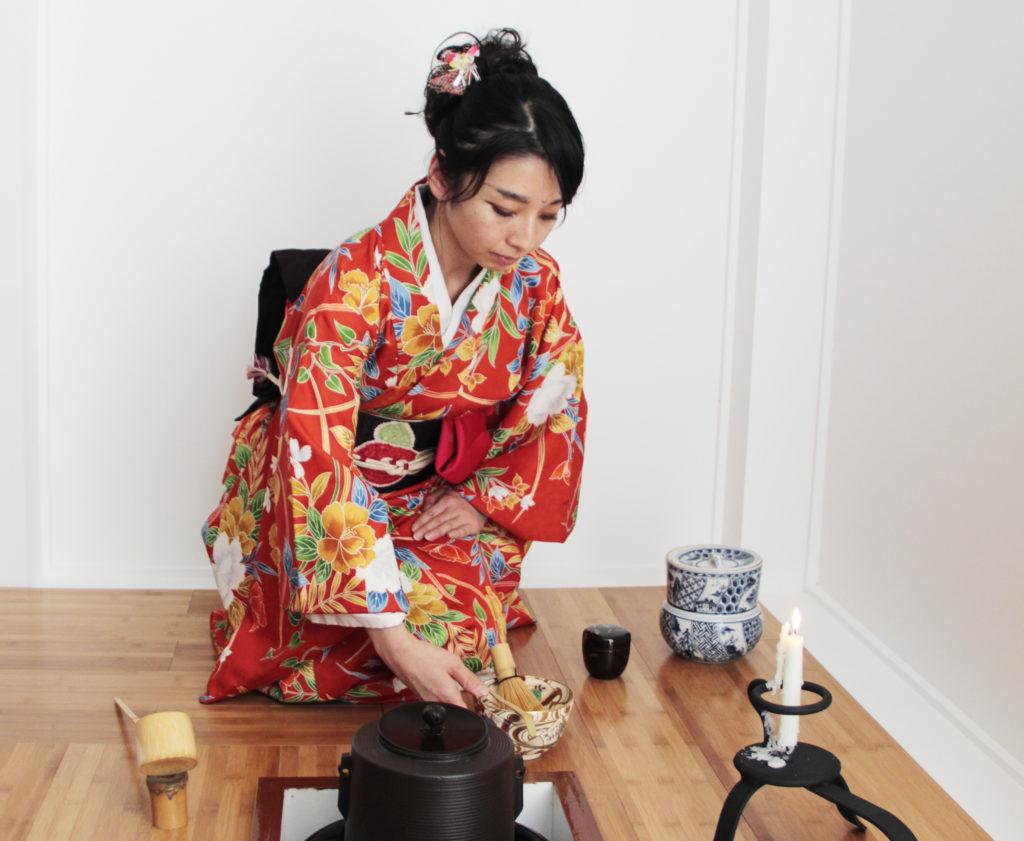 Ceremonia Yobanashi, el mundo sutil y perfecto del té matcha
