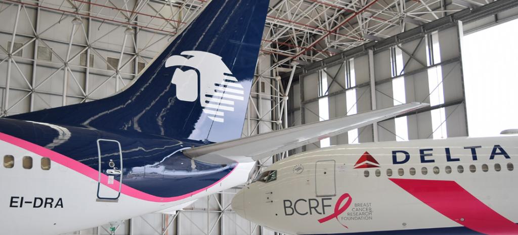 Aeroméxico y Delta hacen histórica alianza