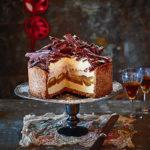 Frozen tiramisu cheesecake 1